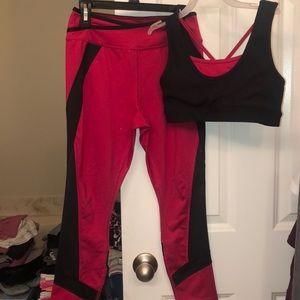 Girls Avia Lg(10-12) matching athletic wear set